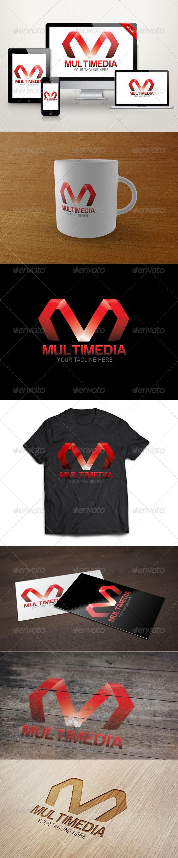GraphicRiver Letter M Logo Template 6536684
