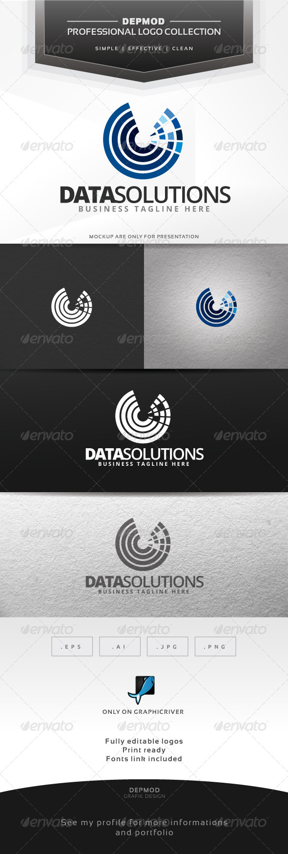 GraphicRiver Data Solutions 6584494