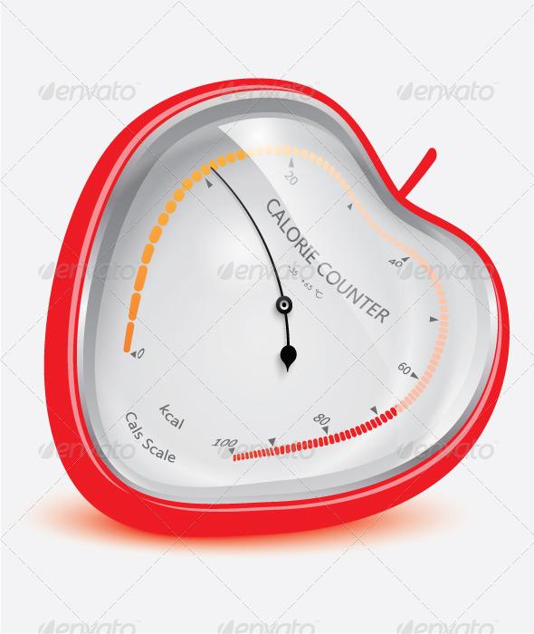 GraphicRiver Calorie Counter 6584691