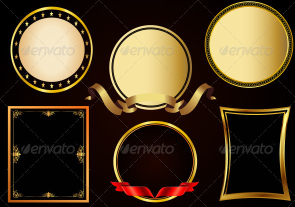 GraphicRiver Vintage Photo Frames Collection 6584784