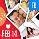 Valentines Day Facebook Cover Template - GraphicRiver Item for Sale