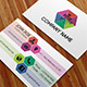 Simple Color Business Card - GraphicRiver Item for Sale