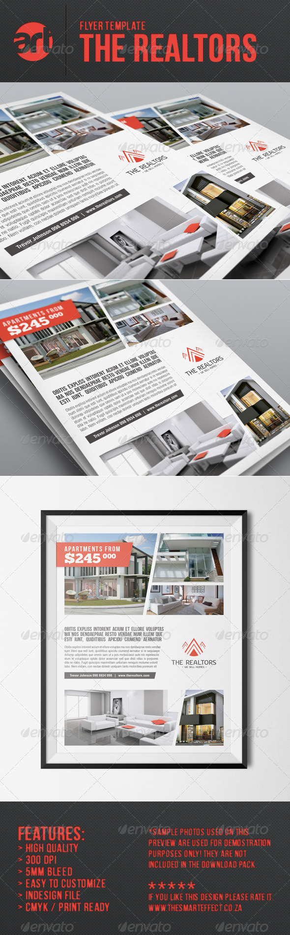 GraphicRiver The Realtors Flyer Template 6588042