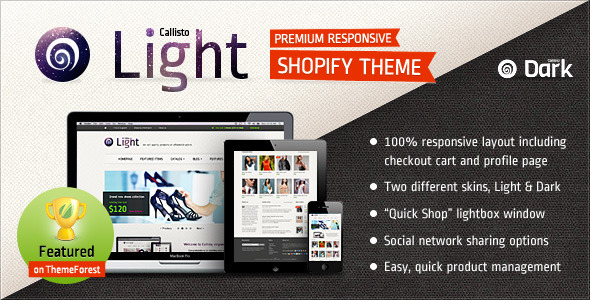 Callisto for Shopify - Premium Responsive Theme