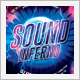 Sound Inferno Party Flyer - GraphicRiver Item for Sale
