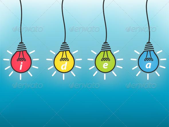 GraphicRiver Idea Business Concept 6589435