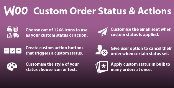 WooCommerce Custom Order Status & Actions - CodeCanyon Item for Sale