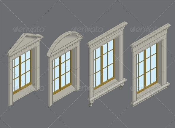 GraphicRiver Isomentic Windows Set 6590064