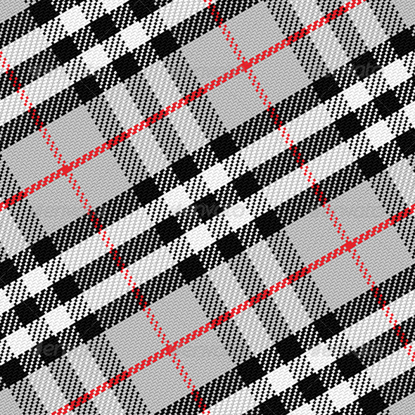 GraphicRiver Seamless Pattern Scottish Tartan 6590076