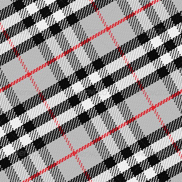 GraphicRiver Seamless Pattern Scottish Tartan 6590076
