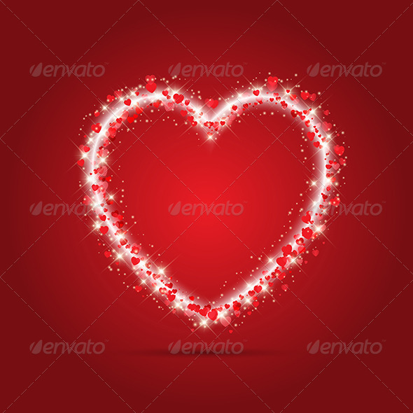GraphicRiver Sparkle Heart Design 6590119