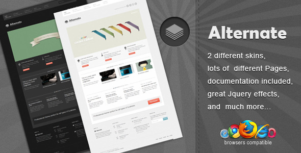 Alternate - Clean Html Template