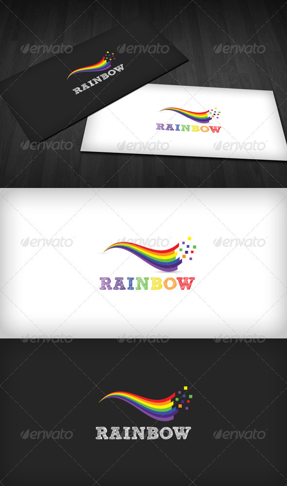 Rainbow Logo Template - Symbols Logo Templates