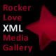 Rocker Love XML Media Viewer (image, swf, or video) - ActiveDen Item for Sale