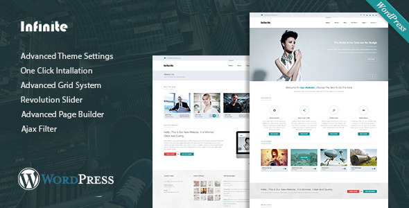 Infinite - Multipurpose WordPress Theme - Corporate WordPress