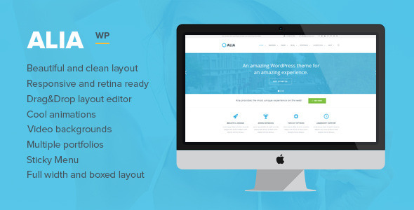 ThemeForest Alia Responsive Multi-Purpose WordPress Theme 6573469
