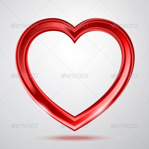 GraphicRiver Abstract Shiny Heart s Shape 6594488