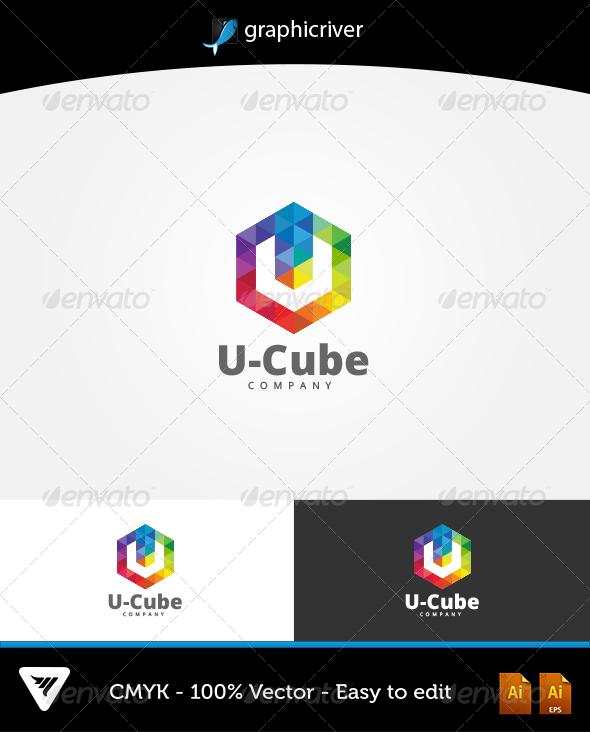 GraphicRiver U-Cube Logo 6594879