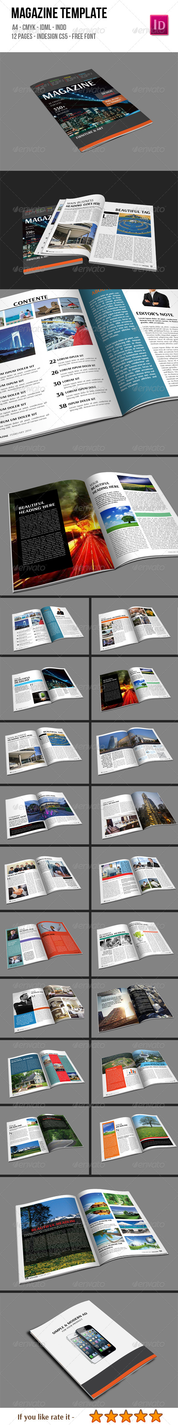 GraphicRiver Magazine Template 6596488