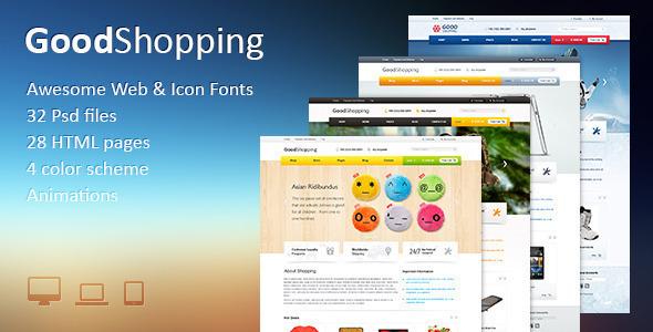 ThemeForest GoodShopping Responsive & Retina Ready Magento 6586030
