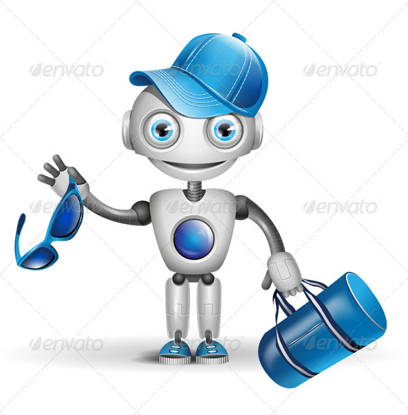 GraphicRiver Robot Sportsman 6599787