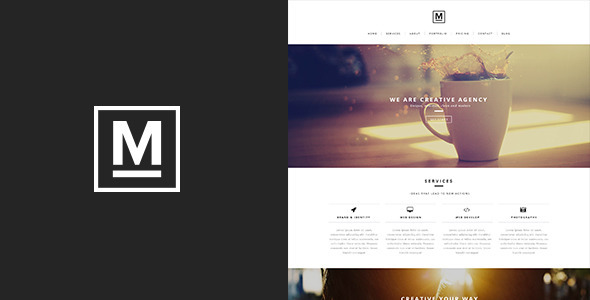 ThemeForest Max One Page Template 6592093