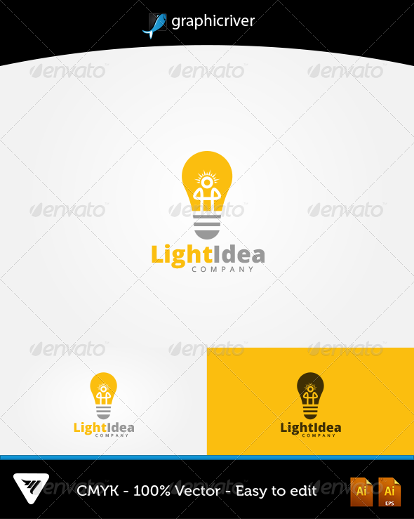 GraphicRiver LightIdea Logo 6602308