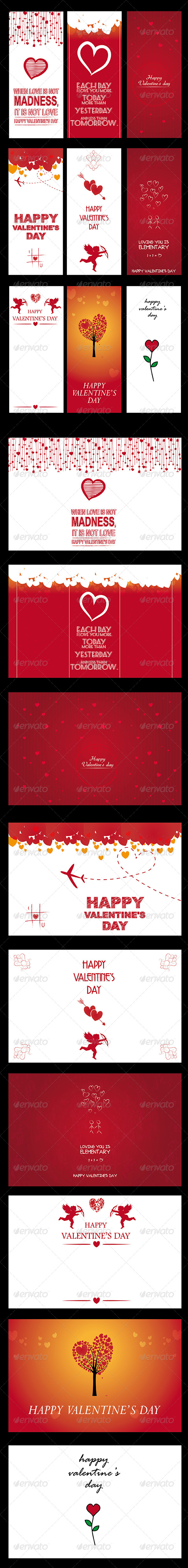 GraphicRiver Valentine s Background and Banner 6602356