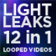 Light Leaks (12 in 1 Looped Videos) - VideoHive Item for Sale
