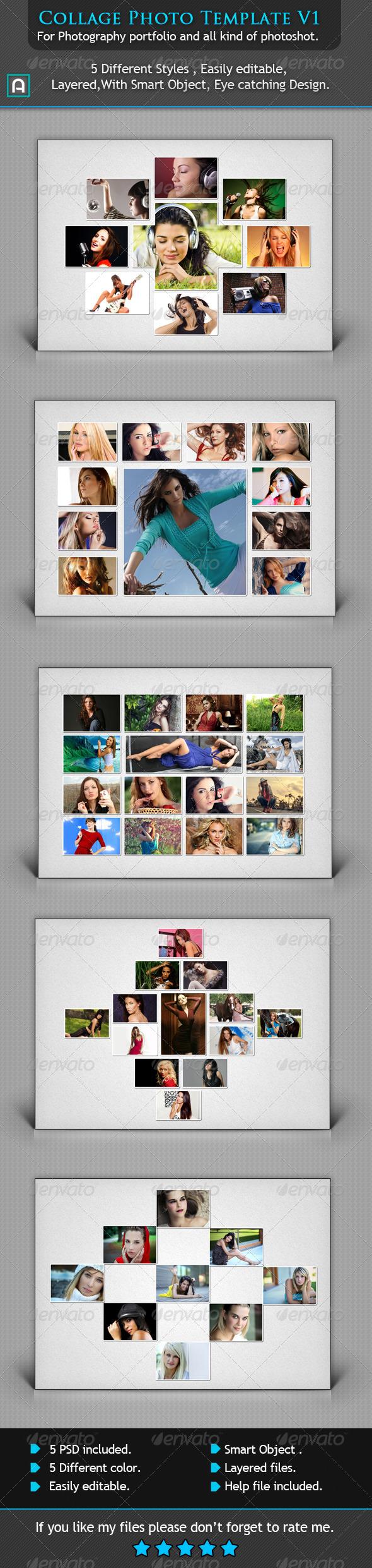 GraphicRiver Collage Photo Template V1 6594557