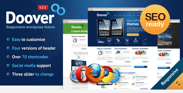 Doover Premium WordPress Theme - Corporate WordPress