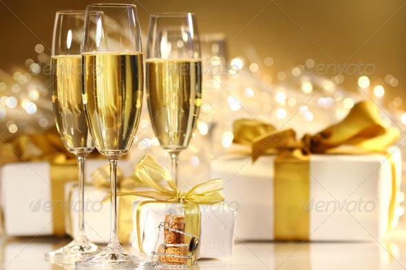 PhotoDune Glasses of champagne 693863