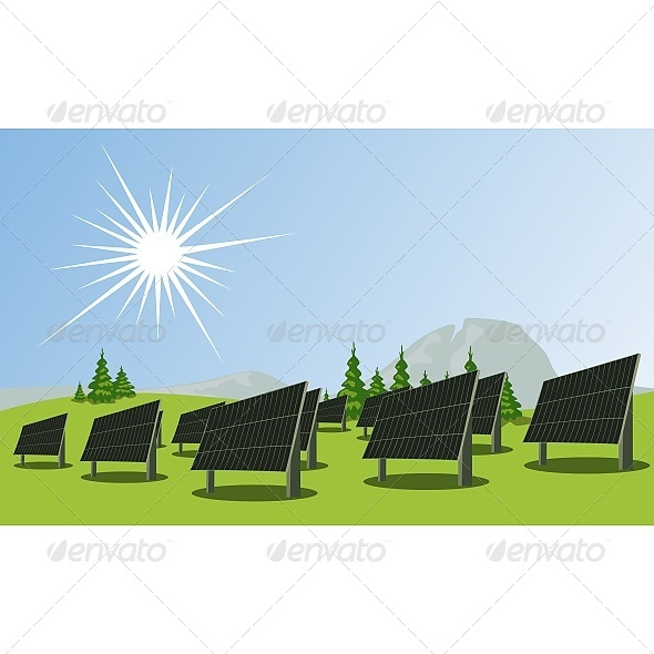 GraphicRiver Solar Panels 6603366