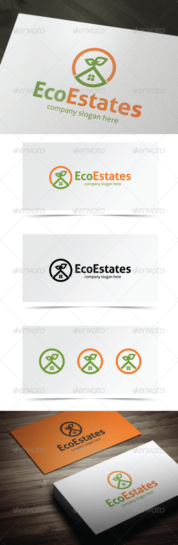 GraphicRiver Eco Estates 6603779