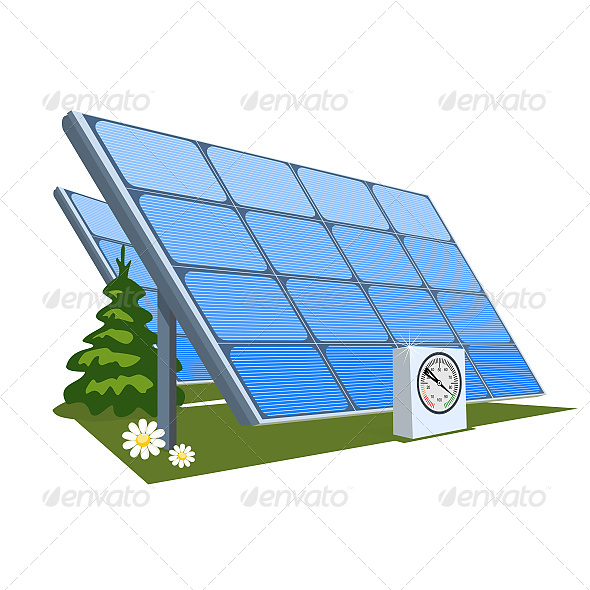 GraphicRiver Solar Panel 6603798