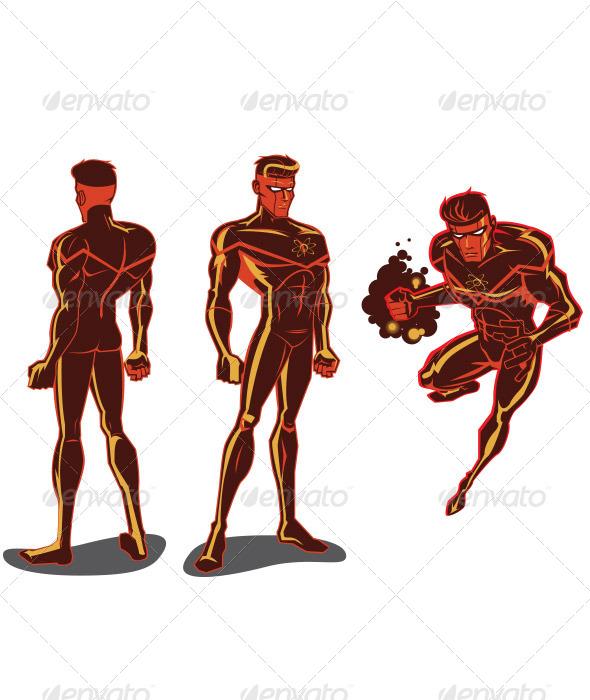 GraphicRiver Atom Man 6549387