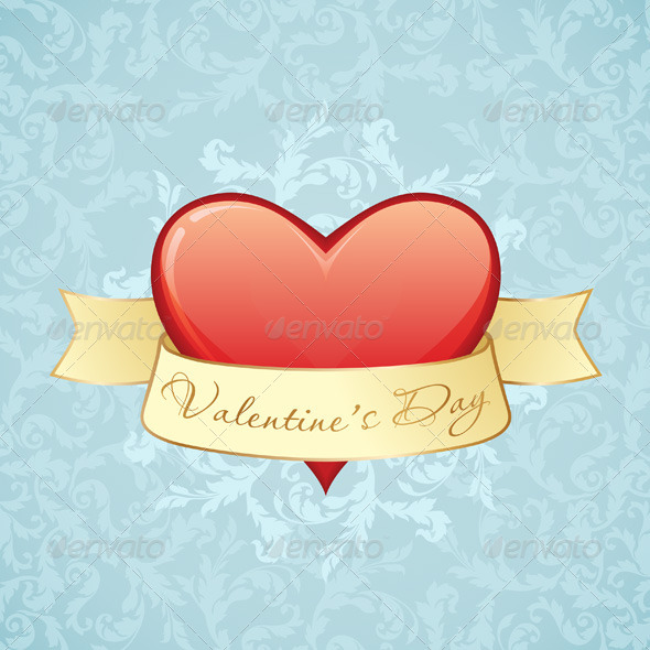 GraphicRiver Valentine s Day Card 6604199