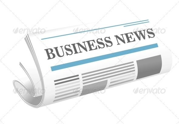 GraphicRiver Business News Paper Icon 6604285