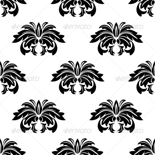 GraphicRiver Repeat Seamless Pattern of Arabesques 6604368