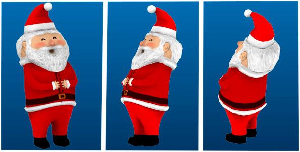 3DOcean Santa s Garden Gnome 6605506