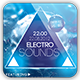 Electro Sounds Flyer Template - GraphicRiver Item for Sale