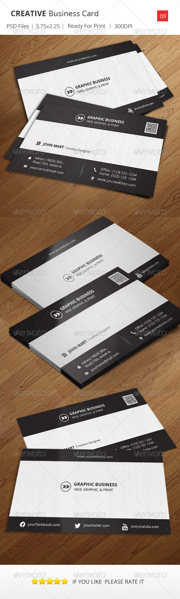 GraphicRiver Creative Business Card v.09 6606282
