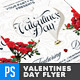 Valentines Day Flyer - Elegant & Lush - GraphicRiver Item for Sale
