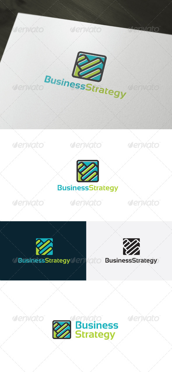 GraphicRiver Business Strategy Logo 6606706