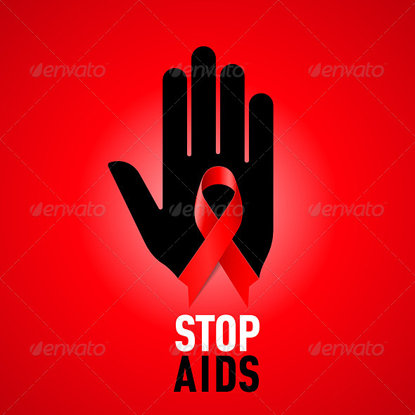 GraphicRiver Stop AIDS Sign 6607176