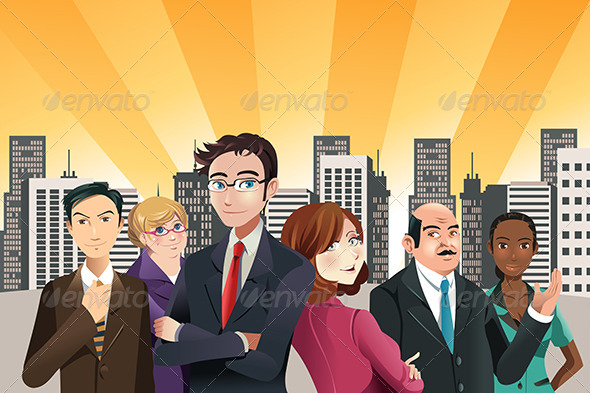 GraphicRiver Business People 6607182