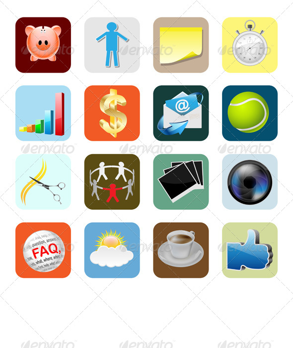 GraphicRiver Web Icons Internet 6525242