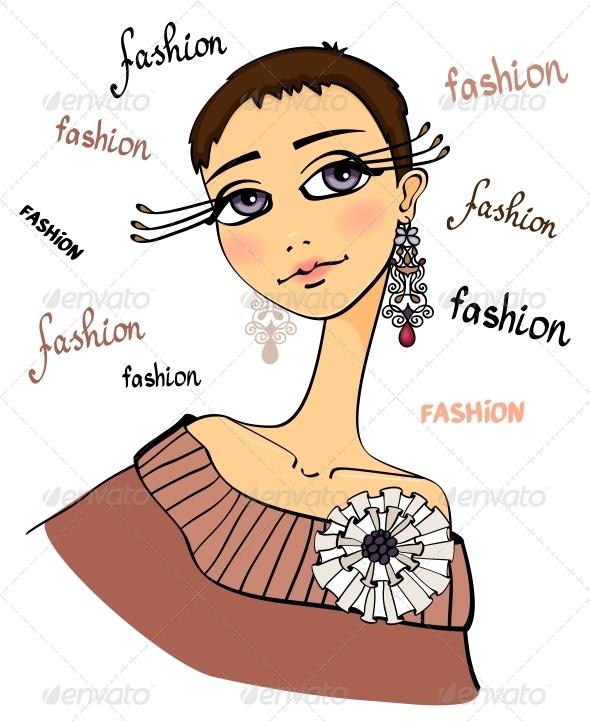 GraphicRiver Fashion Woman Portrait 6608239