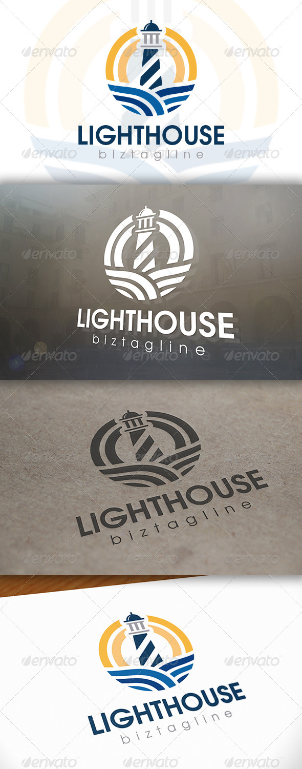GraphicRiver Lighthouse Logo Template 6608334