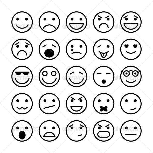 GraphicRiver Smiley Faces for Website Design 6608463